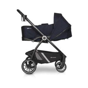 Коляска модульная Euro-Cart Crox Pro 3 в 1 cosmic blue