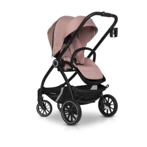 Коляска модульная Euro-Cart Crox Pro 3 в 1 rose