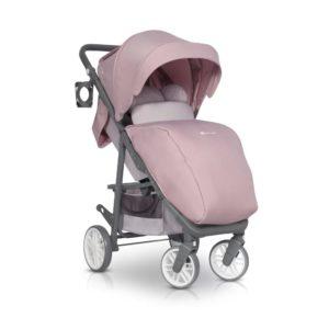 Коляска прогулочная Euro-Cart Flex powder pink