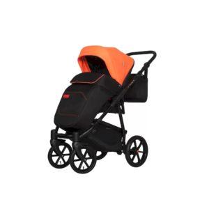 Коляска модульная 2 в 1 Riko Swift Neon party orange